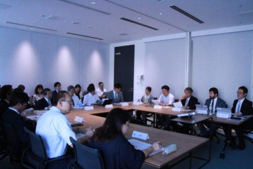 Photograph of what AMR Alliance Japan: Preparatory Meeting for the Advocacy Activities looked like.