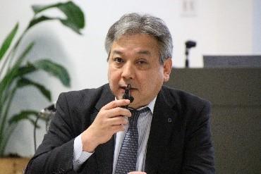 Photograph of Mr. Yusuke Ariyoshi.