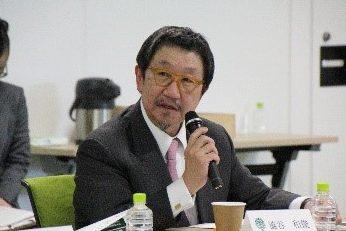 Photograph of Mr. Kazutoshi Shibuya.