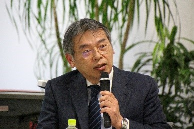 Photograph of Mr. Masaki Yoshida.