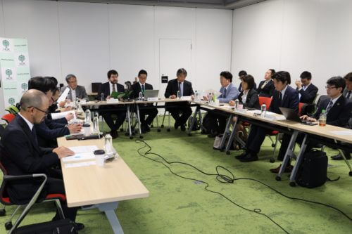Photograph of what Meeting to Debate the Policy Recommendations of AMR Alliance Japan looked like.