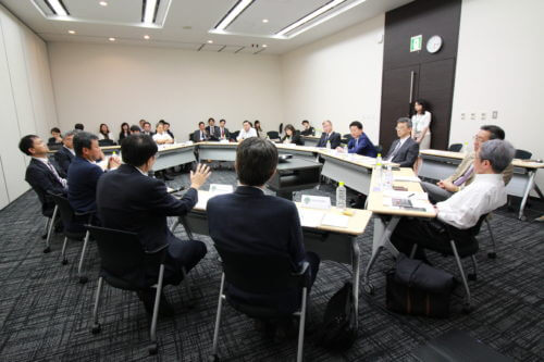 Photograph of what AMR Alliance Japan – Kick-off Meeting: Setting the vision looked like.