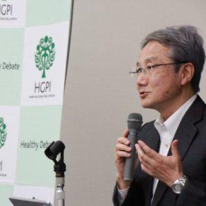 Photograph of Mr. Kazuhiro Tateda.