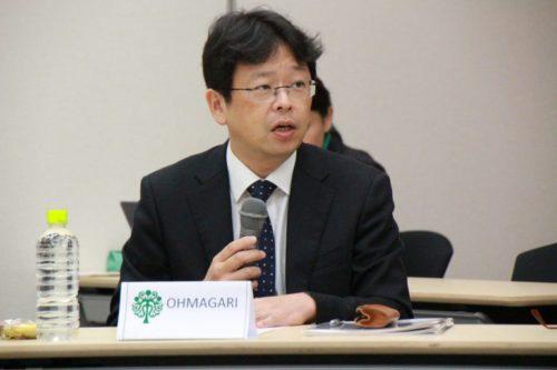 Photograph of Mr. Norio Ohmagari.