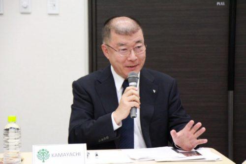 Photograph of Mr. Satoshi Kamayachi.