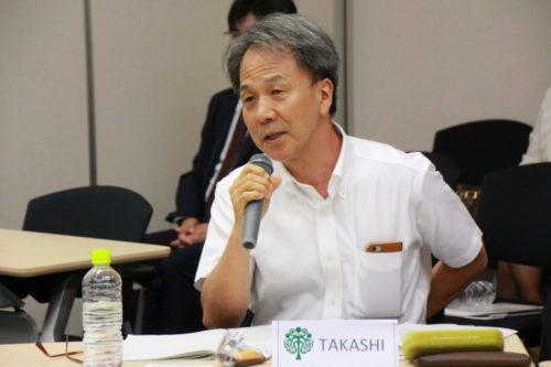 Photograph of Mr. Tohru Takashi.