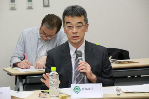Photograph of Mr. Tomohiro Terada.