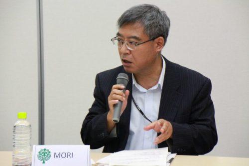 Photograph of Mr. Kazuhiko Mori.