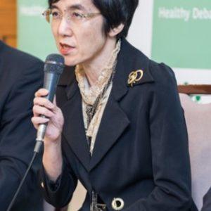 Photograph of Ms. Takuko Sawada.