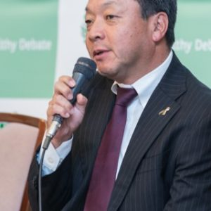 Photograph of Mr. Kazuhiro Hamaji.