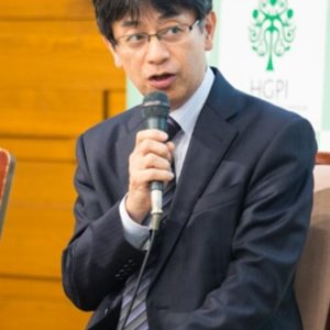 Photograph of Mr. Yasunori Tawaragi.