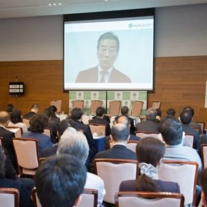 Photograph of Mr. Kiyoshi Kurokawa.